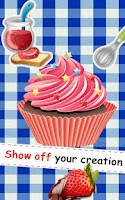Screenshot of Cooking Game: Cup Cake!