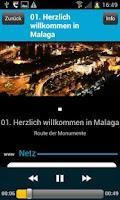 Screenshot of Audio Tour Offizielle Malaga