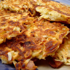 Bacon and Sage Potato Pancakes