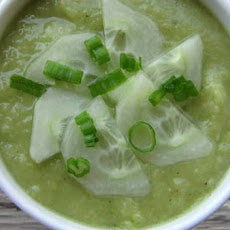 Cucumber Gazpacho Cold Soup