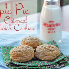 Apple Pie Oatmeal Sandwich Cookies and a Giveaway from Wilton and Duncan Hines