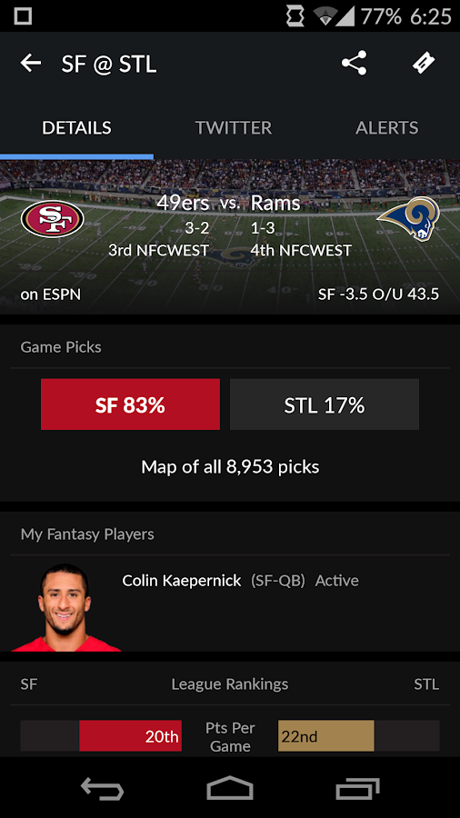 Yahoo Sports Screenshot 2