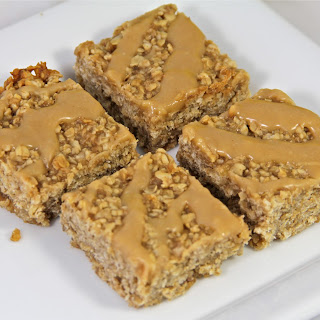 Peanut Butter, Honey, and Banana Oat Bars