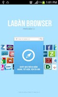 Screenshot of Laban browser