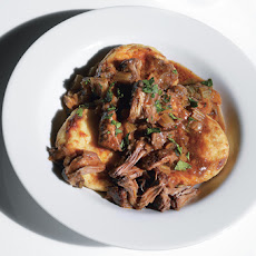 Semolina Gnocchi with Oxtail Ragù