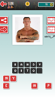 Screenshot of Wrestling Quiz