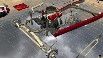 Screenshot of Car Disassembly 3D