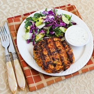 Grilled Fresh Salmon Burgers with Caper Mayonnaise