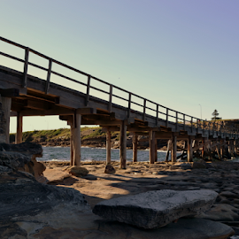 Bare Island Bridge 2 by Mark Zouroudis - Buildings & Architecture Bridges & Suspended Structures