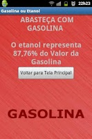 Screenshot of Gasolina ou Etanol