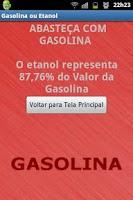 Screenshot of Gasolina ou Etanol