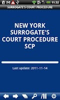 Screenshot of NY Surrogate's Court Procedure
