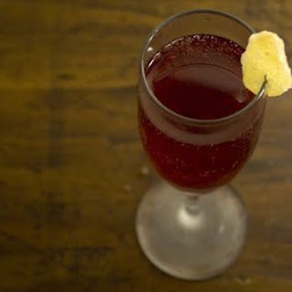 Pomegranate and Ginger Sparkler