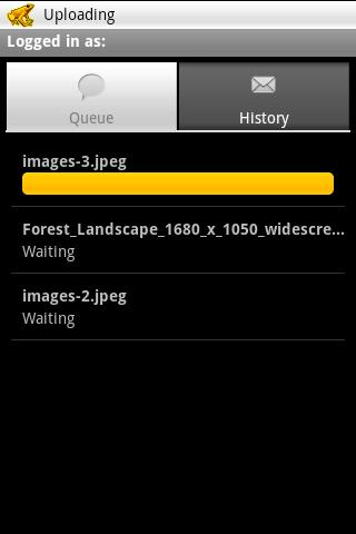 imageshackdroid for android screenshot