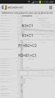 Screenshot of ARCHER CTE-DB-HS1