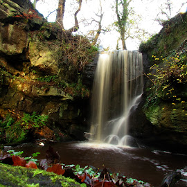 Natures finest by Sazzy  Xo - Nature Up Close Water ( uk, england, peaceful, nature, northumberland, waterfall, beauty )