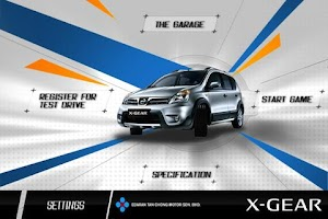 Screenshot of Nissan X-Gear