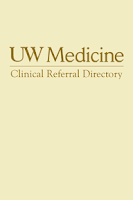 Screenshot of UW Medicine Clinical Directory