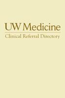 Screenshot of UW Medicine Clinical Directory