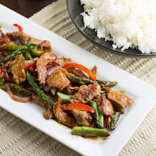 Pork and Garlic Stir-Fry