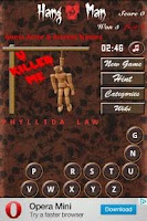 Screenshot of HangMan