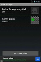 Screenshot of Prank Caller 1.1