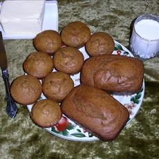 Ginger Snappy Pumpkin Bread