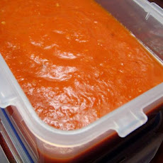Roasted Red Pepper and Tomato Pasta Sauce