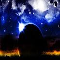 3D amazing universe icon