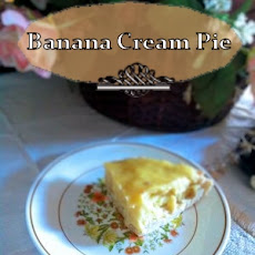 Banana Cream Pie + Giveaway