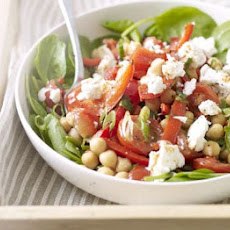 Warm Chickpea, Chilli & Feta Salad