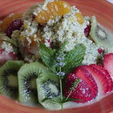 Minted Quinoa Fruit Salad