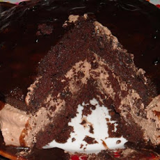 All Chocolate Boston Cream Pie