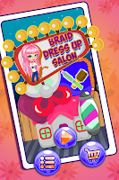 Screenshot of Crazy Hair Braid Salon