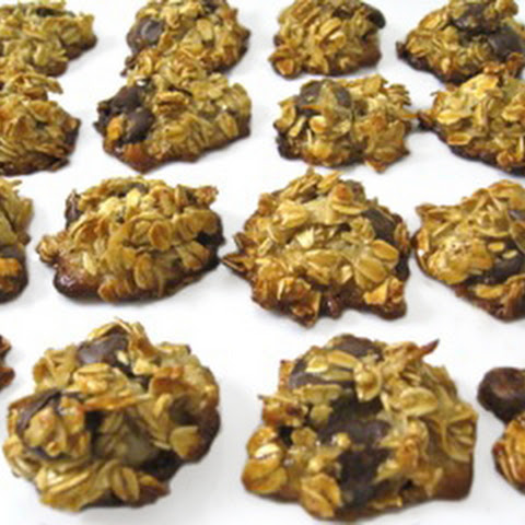 Skinny Oatmeal Dark Chocolate Chippers (Gluten Free)