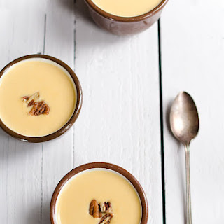 Cream of Winter Squash Soup with Spicy Candied Pecans