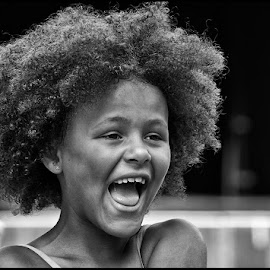 Joy  by Etienne Chalmet - Babies & Children Children Candids ( black and white, street, children, candid, people, portrait,  )