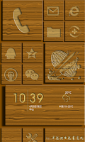 Screenshot of Launcher8 theme carpenter Life