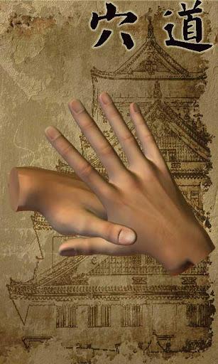 3D 手掌穴道按摩