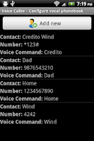 Screenshot of Voice Caller
