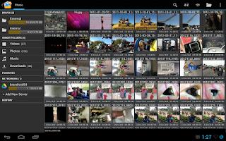 Screenshot of Open Explorer Beta