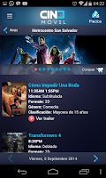 Screenshot of Cinemovil