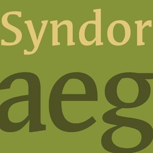 Cover art Syndor FlipFont
