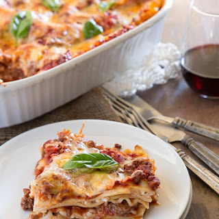 The Best Lasagna Recipe With Meat Sauce