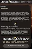 Screenshot of 40+ Binaurals! | AmbiScience™