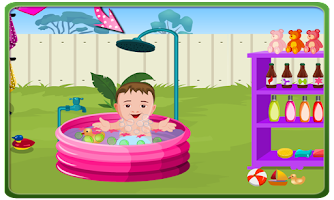 Screenshot of Baby Outdoor Bathing