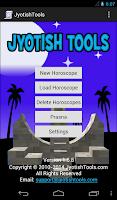 Screenshot of Jyotish Tools