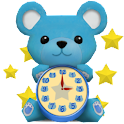 AquaBear ClockWidget icon