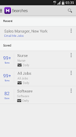 Screenshot of Monster Job Search