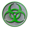 Biohazard Sticker Widget icon